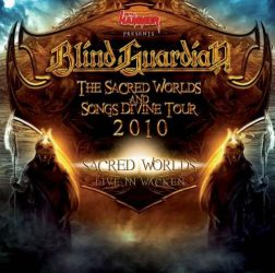 BLIND GUARDIEN: THE SACRED WORLDS  AND SONGS DIVINE TOUR  2010   CD
