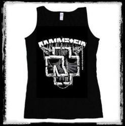 RAMMSTEIN: Logo női trikó