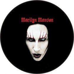 MARILYN MANSON 1. kitűző