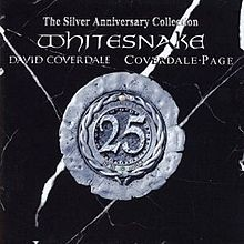 WHITESNAKE: THE SILVER ANNIVERSARY COLLECTION  2CD