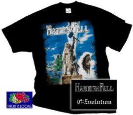 HAMMERFALL: Evolution póló (RENDELÉSRE)