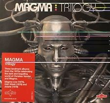 MAGMA: TRILOGY  3CD