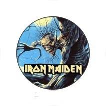 IRON MAIDEN  1.  kitűző