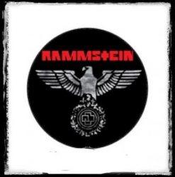 RAMMSTEIN 3. kitűző