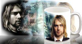 NIRVANA: Kurt Cobain bögre (RENDELÉSRE)