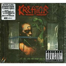 KREATOR: RENEVAL  CD  (Digipack, remastered with bonus tracks.)