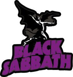 BLACK SABBATH kis felvarró  (hímzett) (RENDELÉSRE)