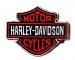 HARLEY DAVIDSON: Logó 1. felvarró (10x10 cm) (RENDELÉSRE)