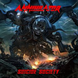 ANNIHILATOR: SUICIDE SOCIETY  2CD