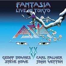 ASIA: FANTASIA LIVE IN TOKYO  2CD+DVD