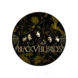 BLACK VEIL BRIDES 1. kitűző