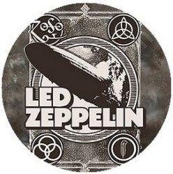 LED ZEPPELIN: 1 kitűző