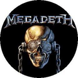 MEGADETH 1.  kitűző