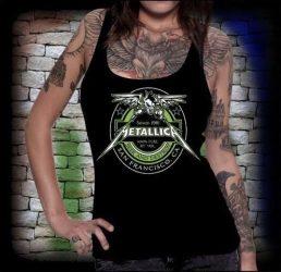 METALLICA: Seek and Destroy   női trikó  (RENDELÉSRE)