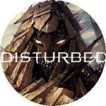 DISTURBED 2. kitűző