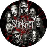SLIPKNOT: Circle masks