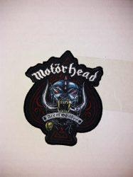 MOTÖRHEAD: England logó szövött  kis felvarró (7x10 cm)