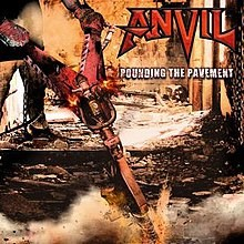 ANVIL: POUNDING THE PAVEMENT  CD