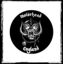MOTÖRHEAD: Logo-Warpig kitűző