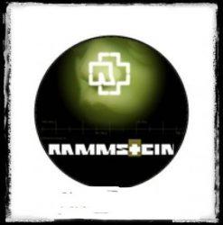 RAMMSTEIN 1. kitűző