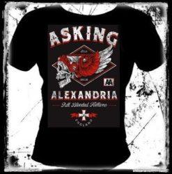 ASKING ALEXANDRIA: Helion női póló
