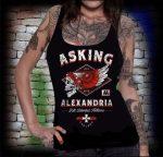 ASKING ALEXANDRIA: Helion női trikó (RENDELÉSRE)