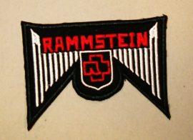 RAMMSTEIN: Logo 2.  kis felvarró (hímzett, 7x10 cm)