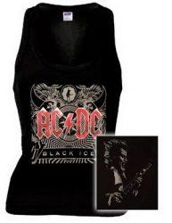 AC/DC: Black Ice női trikó (RENDELÉSRE)