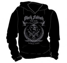 KAPUCNIS PULÓVER: BLACK SABBATH - End Tour... (BEBÚJÓS GILDAN)