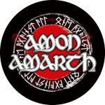 AMON AMARTH: Circle logo felvarró