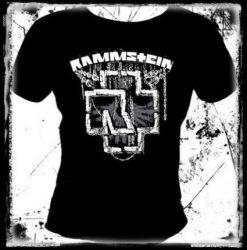 RAMMSTEIN: Logo női póló