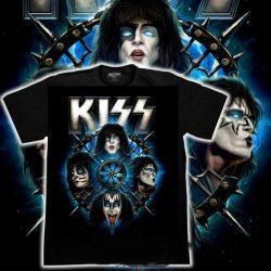 KISS: Gene Simmons - Blood   póló   (RENDELÉSRE)