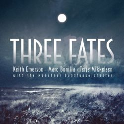 KEITH EMERSON - MARC BONILLA - TERJE MIKKELSEN: THREE FATES  CD