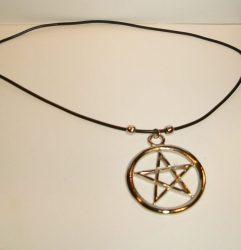 NYAKLÁNC 41.(pentagram 1.)